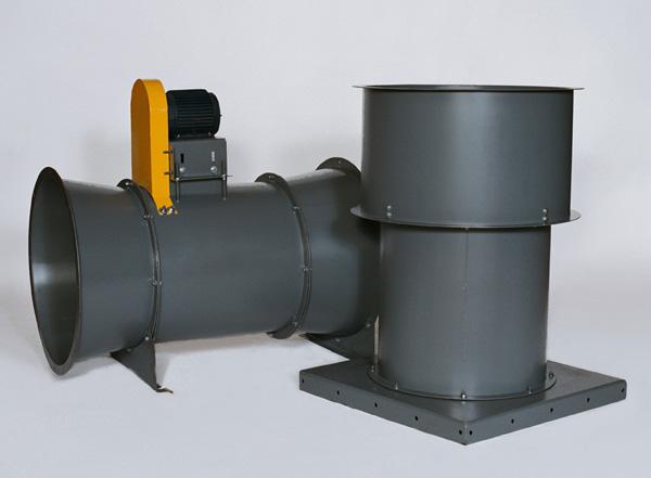 Vane Axial Blower : Vane axial fans tube clean air exhaust dmc
